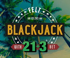 Play Blackjack 21+3 Casino Game Online in UK