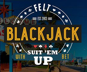 Play Blackjack Suit Em Up Casino Game Online in UK