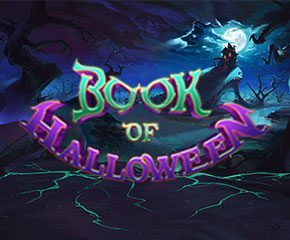 Play Book of Halloween online Slots in UK