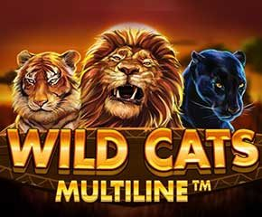 Play Wild Cats Multiline Online in UK